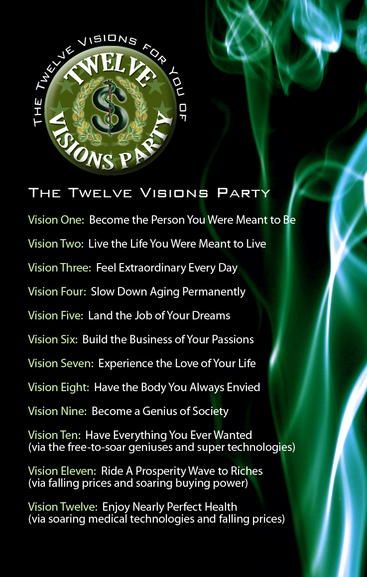 Twelve Visions Party's Visions